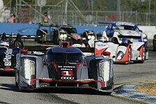 USCC - Audi mit zwei Autos in Sebring