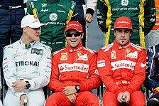 Formel 1 - Alonso: Höchsten Respekt vor Schumacher