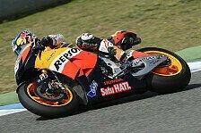 MotoGP - Pedrosa & Marquez froh über den Regen