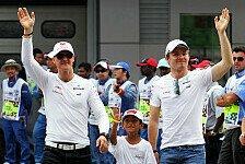 DTM - Rosberg und Schumacher beim DTM-Auftakt