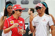Formel 1 - Alonsos WM-Tipp heißt Hamilton