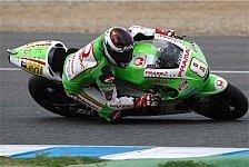 MotoGP - Barbera kommt nicht richtig in die Kurve