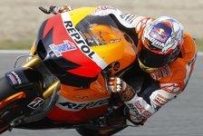 MotoGP - Stoner konnte Arm Pump nicht prüfen