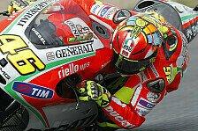 MotoGP - Testtag endete für Rossi vorzeitig