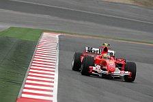 Formel 1 - Testing Time, Tag 6: Zwei rote und ein blauer Ferrari…