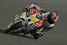 Moto3 - Rossi ist im 2. Training die Moto3-Spitze