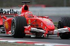 Formel 1 - Testing Time, Tag 5: F2004 M setzt sich gegen MP4-20 durch