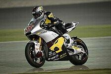 Moto2 - Kallio in schwierigem 2. Training vorne