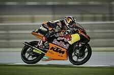 Moto3 - Sandro Cortese startet aus der ersten Reihe