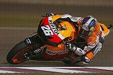 MotoGP - Abtrocknende Strecke bringt Pedrosa Bestzeit