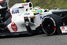 Formel 1 - Perez will auf China-Pace aufbauen
