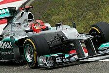 Formel 1 - Schumacher: Nächste Stellungnahme zu Reifen