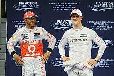 Formel 1 - Hamilton statt Schumacher zu Mercedes