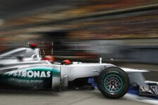 Formel 1 - Schumacher: Reifen spielen zu große Rolle