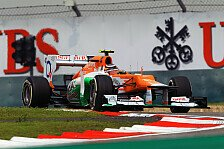 Formel 1 - Hülkenberg glaubt an gute Pace