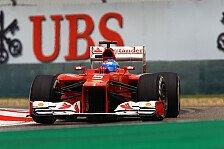 Formel 1 - Ferrari holt Aerodynamik-Verstärkung