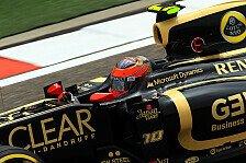 Formel 1 - Grosjean freut sich über die Sonne