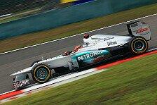 Formel 1 - Schumacher freut sich über enges F1-Feld