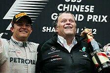 Formel 1 - Keine Nummer eins bei Mercedes