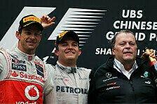 Formel 1 - Button: Mercedes hat ein effizientes Auto
