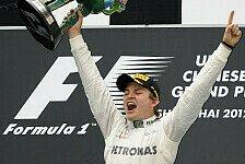 F1 China, Rosberg über 1. Sieg: Beneidete Vettel um seine Autos