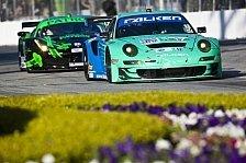 USCC - Vier Porsche 911 GT3 RSR bei Stadtrennen