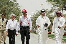 Formel 1 - Ecclestone: Keine Sorge wegen Bahrain