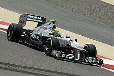 Formel 1 - Rosberg hat kleine Reifensorgen