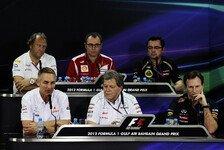 Formel 1 - Fünf Antworten zur Kostenreduktion