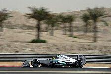 Formel 1 - Rosberg kollidiert mit Vogel