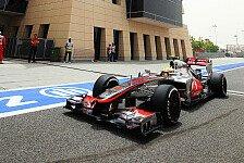 Formel 1 - Hamilton zufrieden mit erster Startreihe