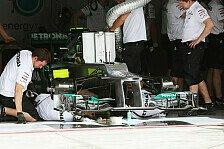 Formel 1 - Erster Verstoß: Mercedes bricht Sperrzeit