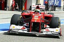 Formel 1 - Alonso testet in Mugello zwei Tage