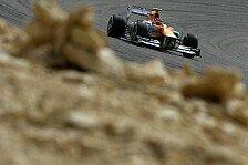Formel 1 - Force India besser als erwartet