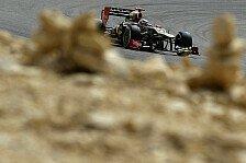 Formel 1 - Lotus hat Lektion in China gelernt