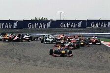 Formel 1 - Rennen: Vettel gewinnt in Bahrain