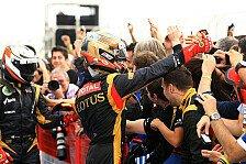 Formel 1 - Grosjean: Ein bisschen von der Pace überrascht