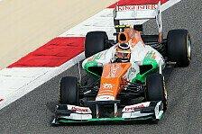 Formel 1 - Hülkenberg rätselt über die Reifen