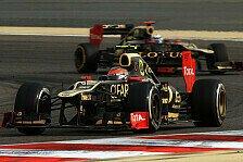 Formel 1 - Grosjean: Keine Gegenwehr