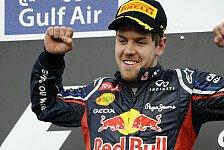 Formel 1 - Vettel gewinnt Bahrain GP