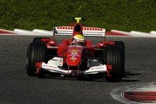 Formel 1 - Testing Time, Valencia: Massa allein am Werk