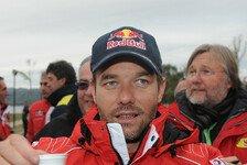 WRC - Loebs Sieg beschlossene Sache