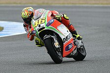 MotoGP - Rossi kämpfte wieder in der Kurve