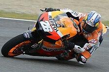 MotoGP - Nasses 3. Training geht an Pedrosa