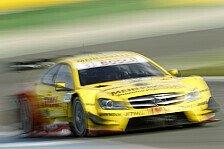 DTM - Schrecksekunde für Coulthard