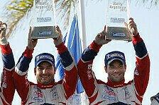 WRC - Loeb schwebt auf Wolke sieben
