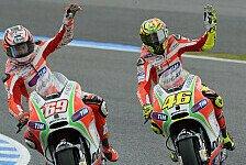 Emotionale Botschaft von Valentino Rossi an Nicky Hayden
