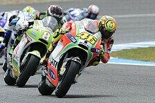 MotoGP - Barbera zum Handschlag mit Rossi