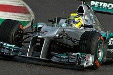 Formel 1 - Rosberg: Mercedes hat beim Test viel gelernt