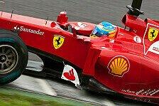 Formel 1 - Alonso: Ferrari muss weiter aufholen
